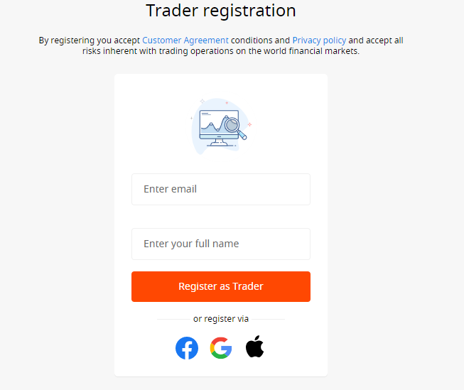 Otwarcie konta handlowego w FBS