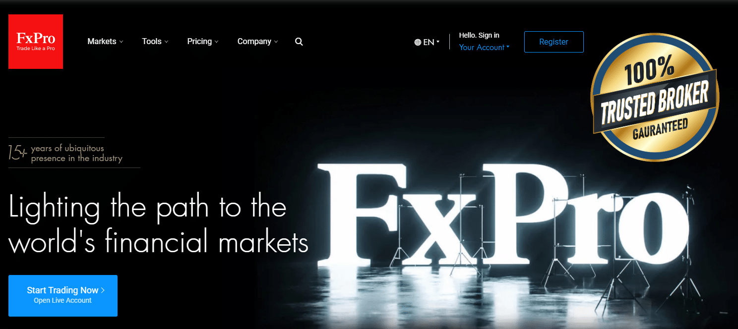 FxPro Official Website