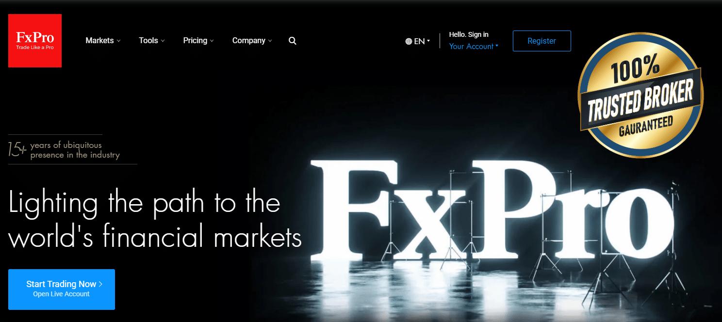 FxPro офіційний сайт