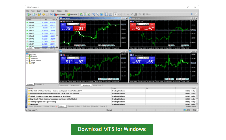 binary.com MetaTrader 5