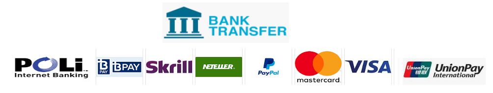 payment methods accepted by Pepperstone