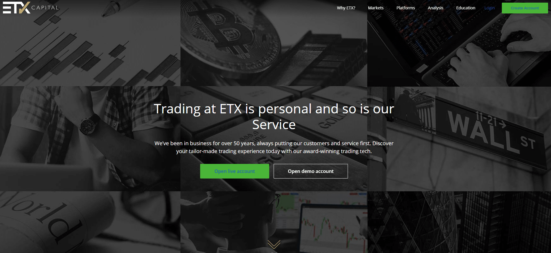 CFD Broker ETX Capital