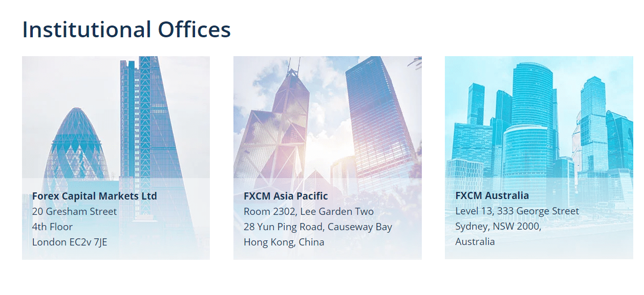 FXCM offices