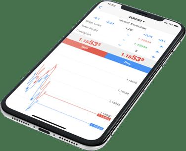 Alpári iPhone Metatrader 5 app