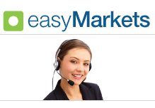 easyMarkets customer service and support