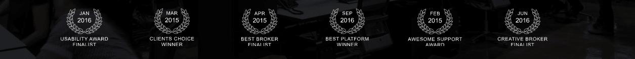 Awards of the broker Binatex