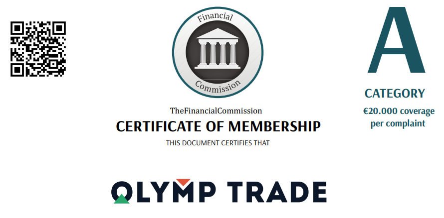 Olymp Trade is regulated by the IFC