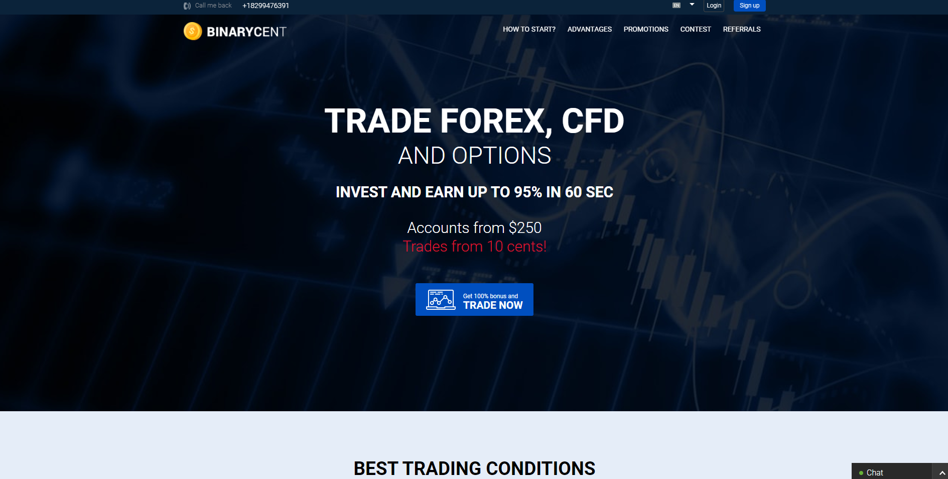 Hivatalos honlapján Binary Options Broker BinaryCernt