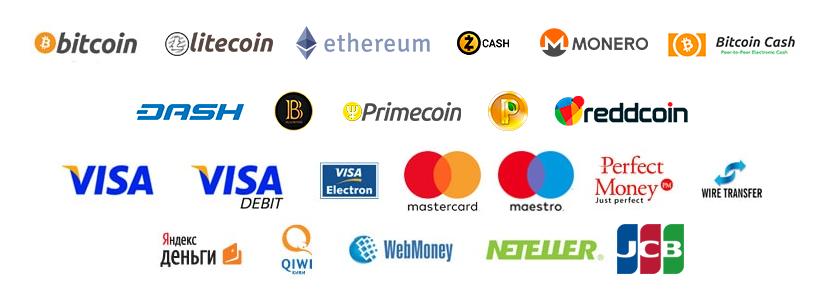 Metody płatności BinaryCent