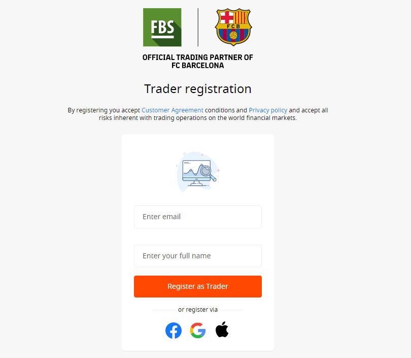 FBS取引口座登録