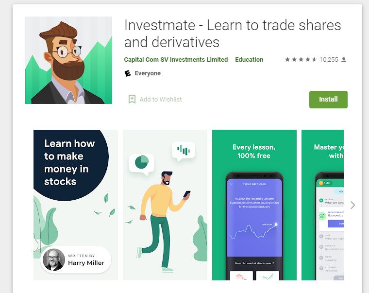 capital.com का इन्वेस्टमेट ऐप