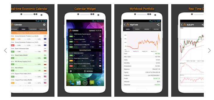 Myfxbook mobilalkalmazás