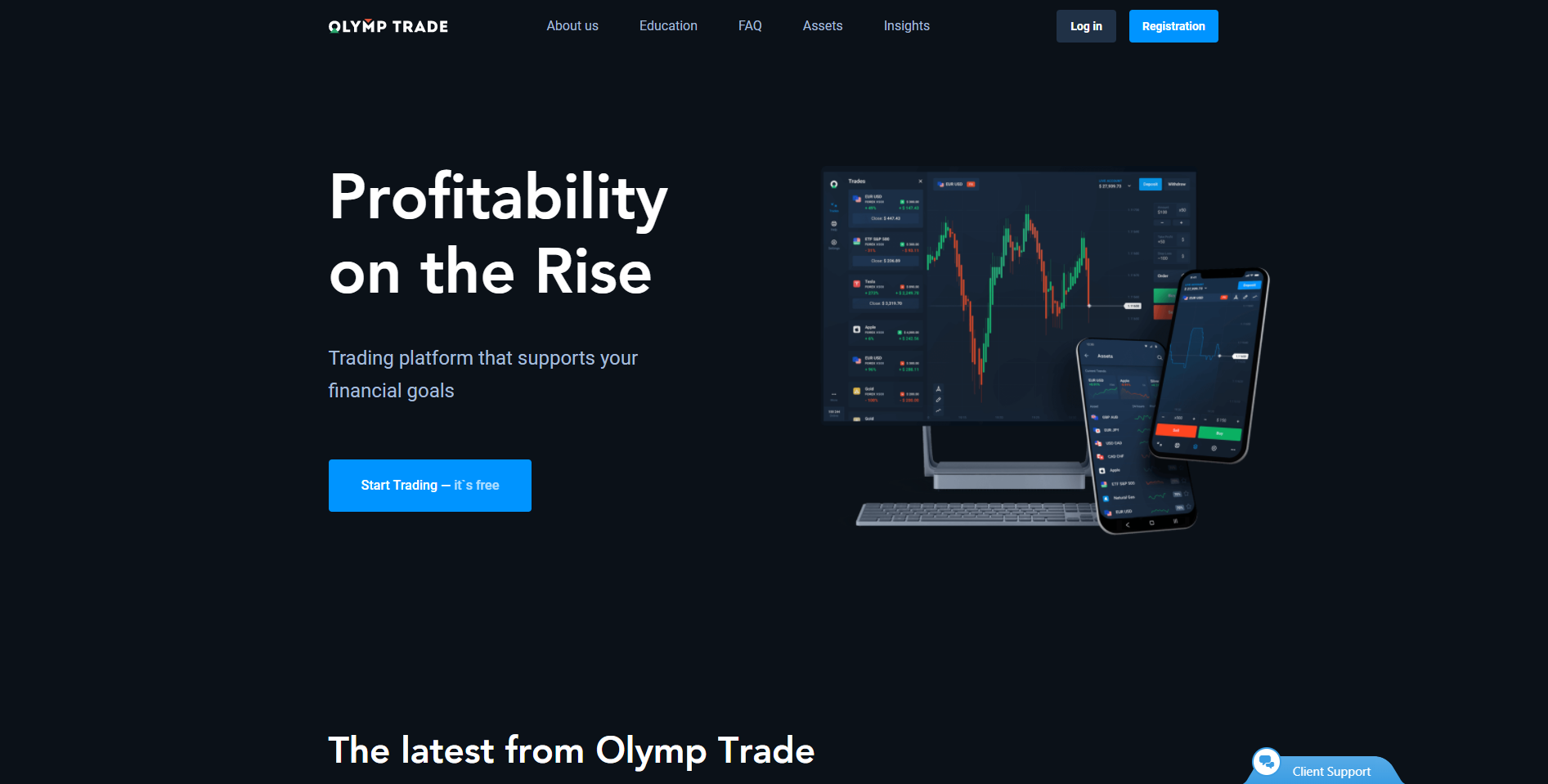 Olymp Trade forex broker in India