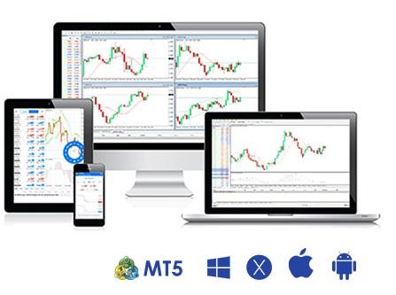 Vantage FX MetaTrader 5 platform