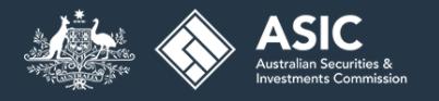 ASIC regulation logo