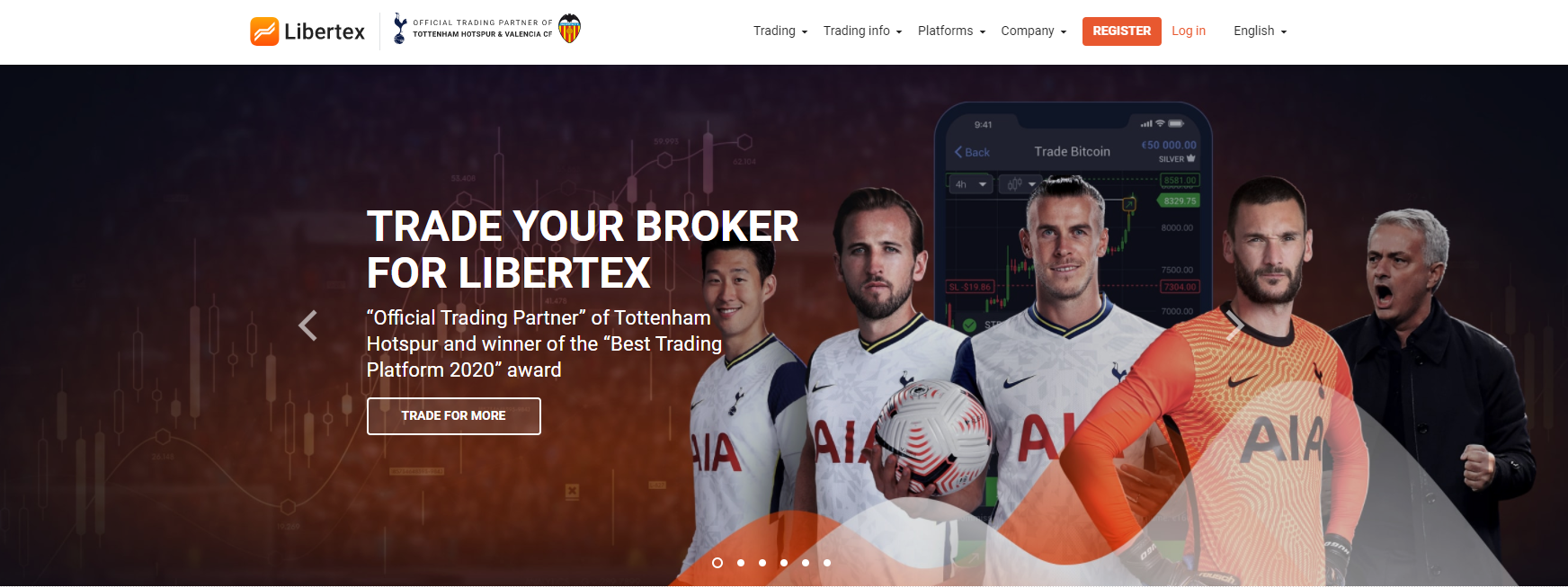 Libertex website