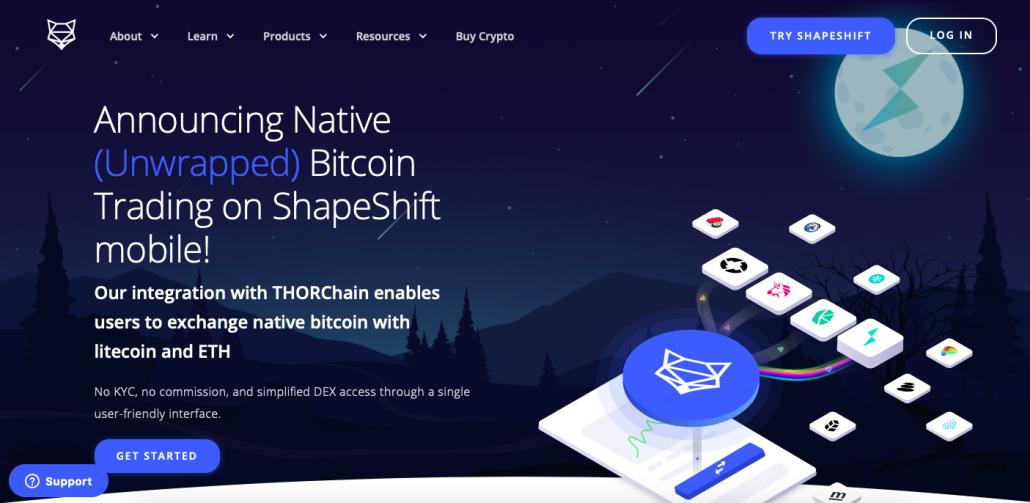 ShapeShift-landing-Page